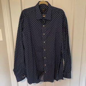 Club Room Navy Dress Shirt